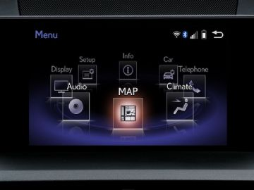 How to update Lexus GEN8 navigation