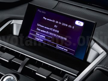 Toyota and Lexus navigation map updates 2018 v2 have been released